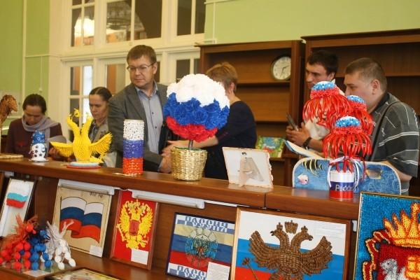 Поделка на конкурс символика россии
